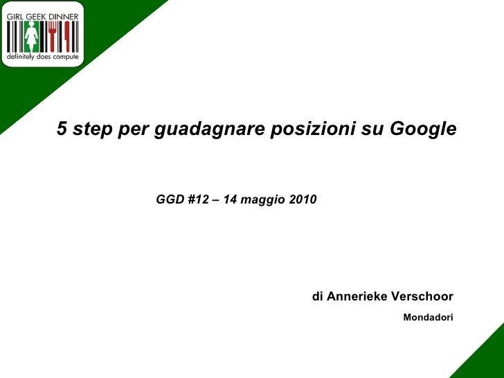 di Chiara Bettaglio RS Component GGD #12 – 14 maggio 2010 Xml Xls ed Excel  per la produzione espressa di Html