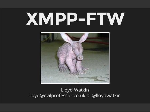 XMPP_FTW