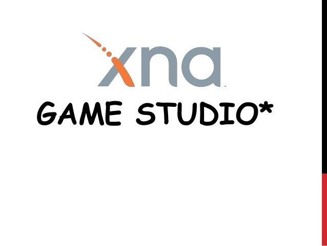 GAME STUDIO*