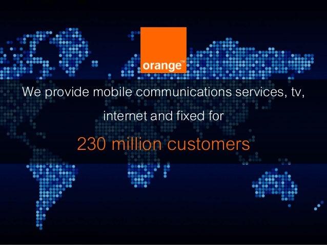 Orange GigaStudio Launch
