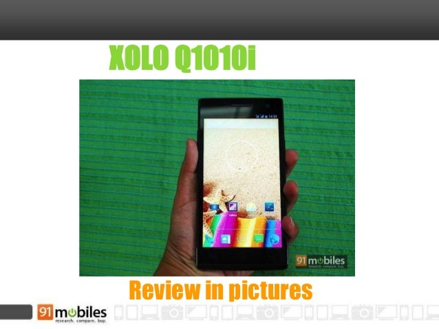 XOLO Q1010i Review in pictures
