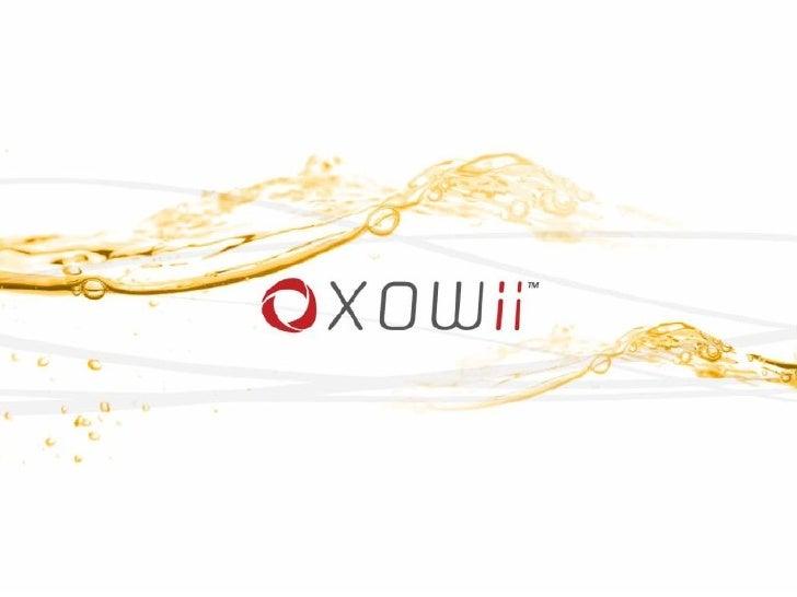 XOWii, Product Presentation