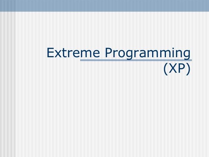 Extreme Programlama