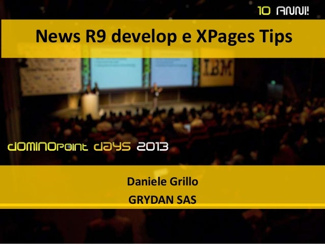 XPages Tips & Tricks, #dd13