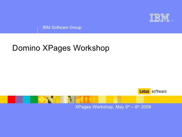 Domino XPages Workshop