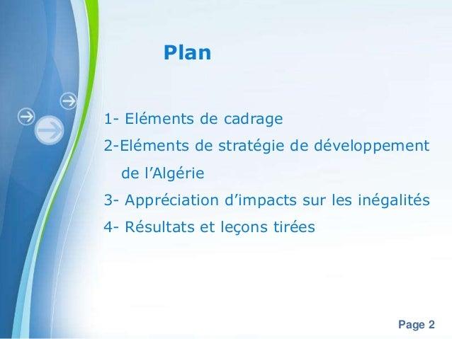UnicefAlgerie x panel  algeria impact of public policies on inequality fr version