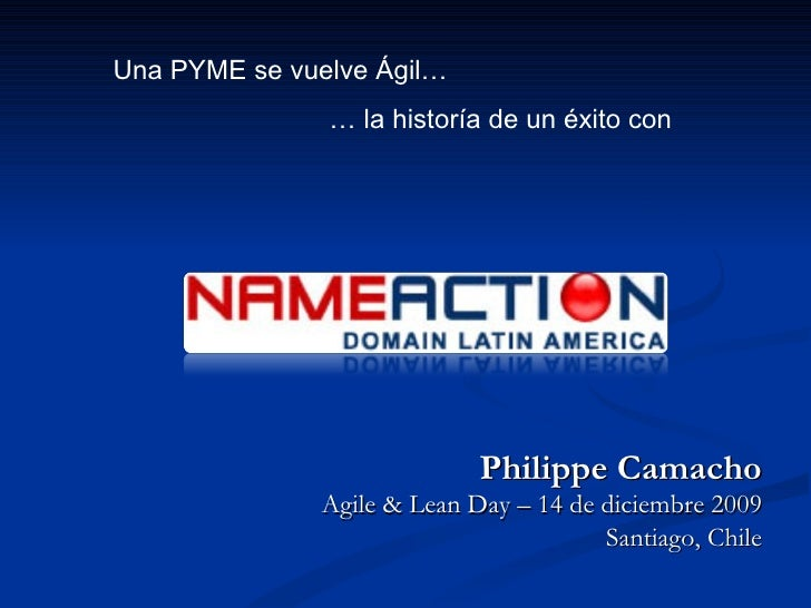 XPDay2009: Nameaction