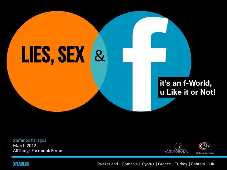 Lies, Sex and Facebook