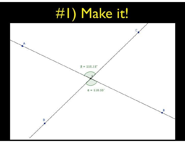 #1) Make it!