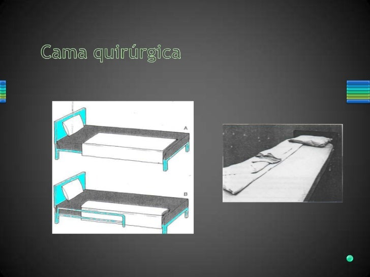Tendido de cama hospitalaria for Cama quirurgica