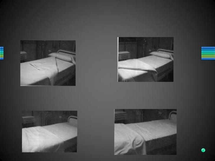 Tendido de cama hospitalaria for Cama cerrada