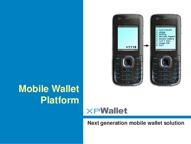 xpWallet - next generation mWallet solution
