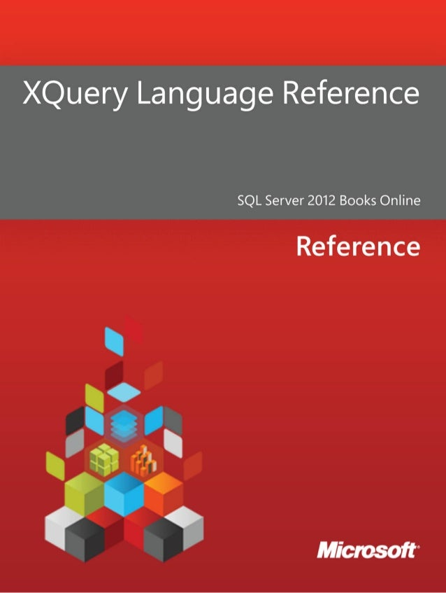 X query language reference