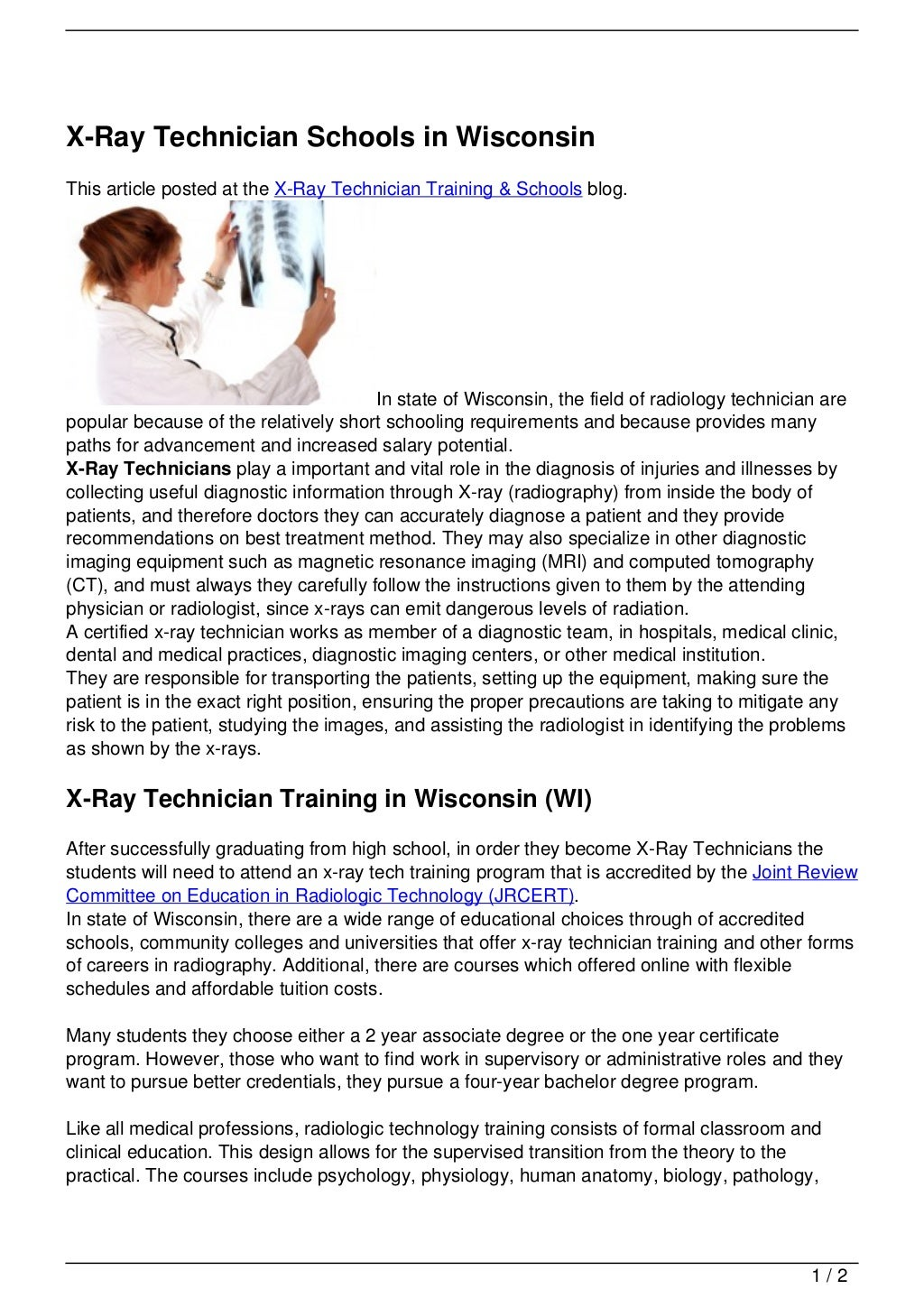 Online College Online College Courses For Xray Tech