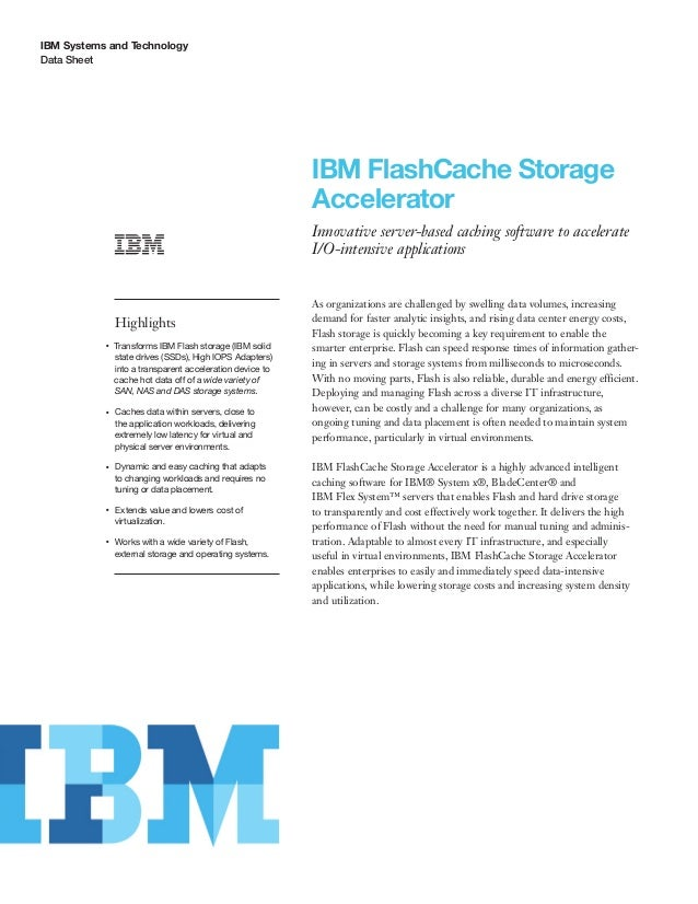 IBM FlashCache Storage Accelerator