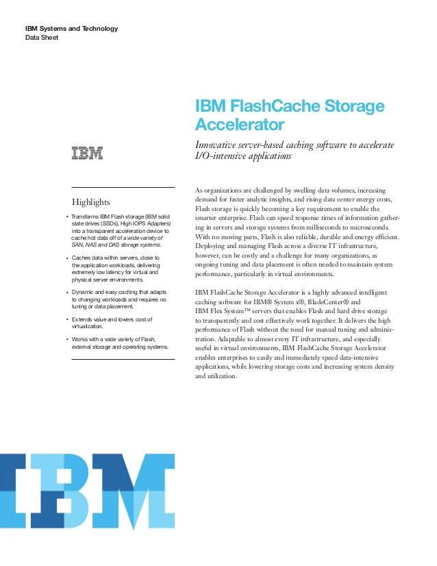 IBM FlashCache Storage Accelerator