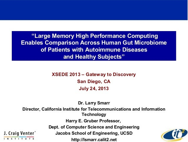 Large Memory High Performance ComputingEnables Comparison Across Human Gut Microbiomeof Patients with Autoimmune Diseasesand Healthy Subjects