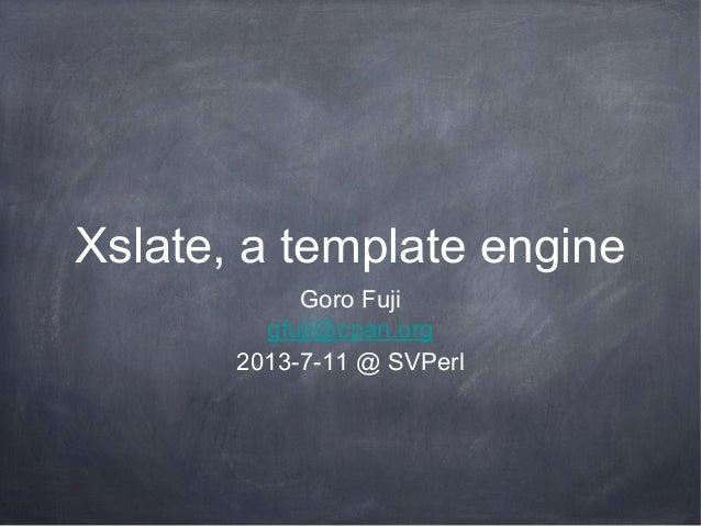 Xslate sv perl-2013-7-11