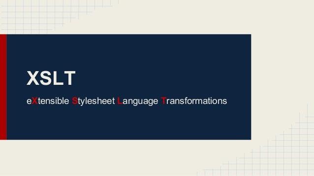 XSLT. Basic.