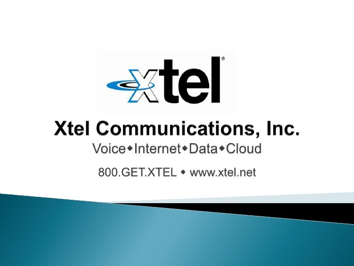    Principle: Providing superior communications services at competitive prices   Incorporated in 1994 as an Inter-Exchan...