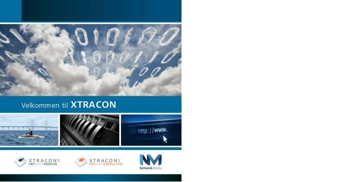 Xtracon og Networkmedia / Salgsbrochure