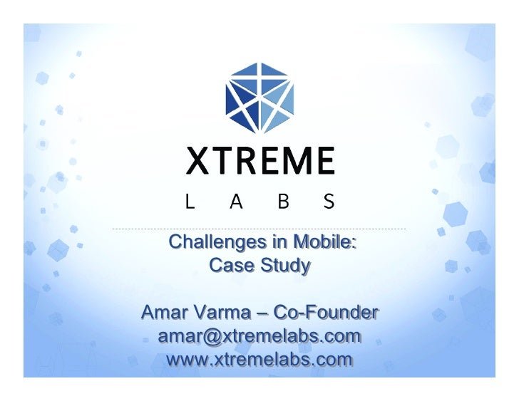5 X Hot Technology Companies Presentation - Xtreme Labs