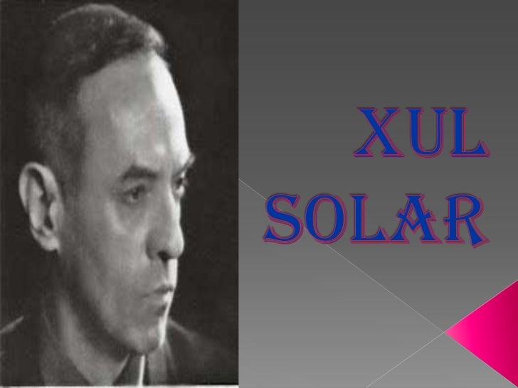 Oscar Agustín AlejandroSchulz Solari nació el 14 dediciembre de 1887 en San  Fernando (provincia de    Buenos Aires), dond...