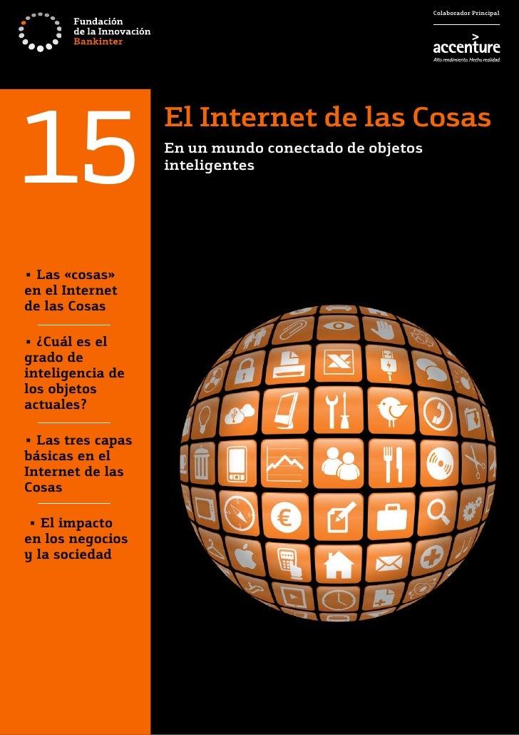 Colaborador Principal15                   El Internet de las Cosas                   En un mundo conectado de objetos     ...