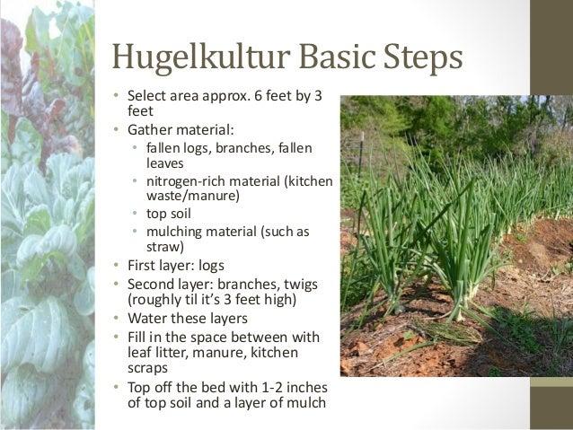 Vegetable Gardens Hugelkultur And Wicking Beds