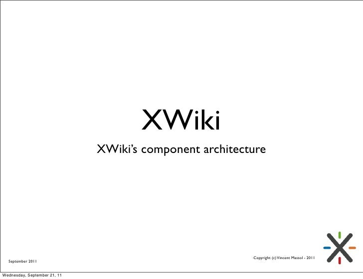 XWiki Components Design Choices