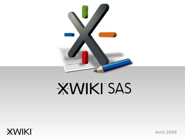 SAS        Avril 2009