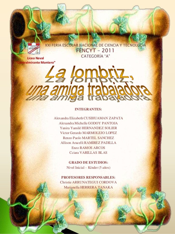 "Liceo Naval""Contralmirante Montero""                                   INTEGRANTES:                       Alexandra Elizabe..."