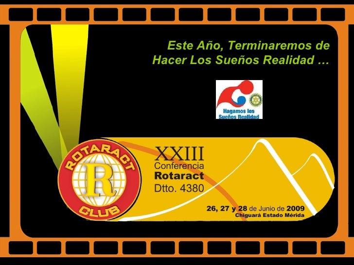 Xxiii Conferencia Rotaract