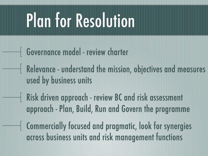 Plan Build Run Operating Model Plan Build Run And
