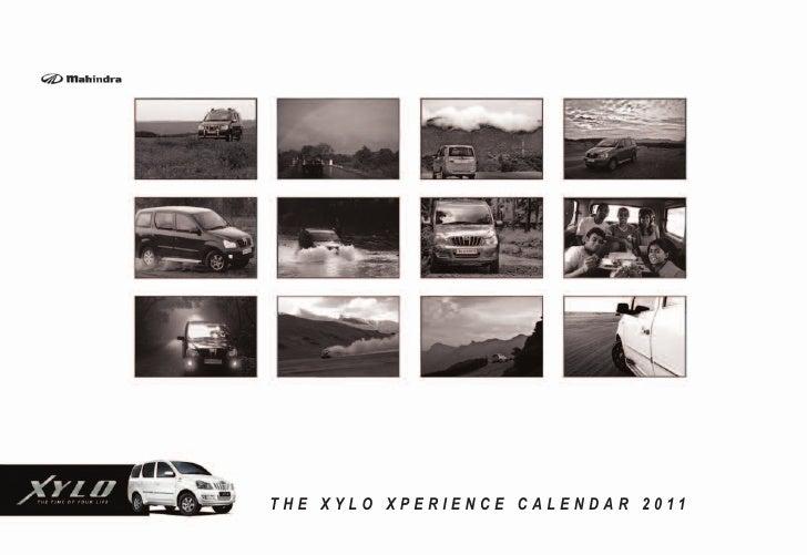 Xylo Xperience Calendar 2011