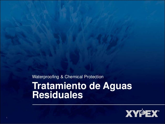 1 Waterproofing & Chemical Protection Tratamiento de Aguas Residuales