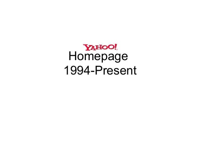 Homepage1994-Present