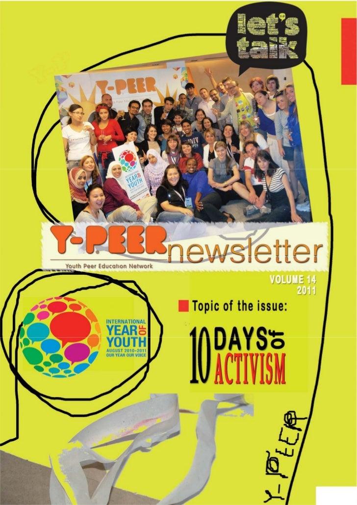 Y-PEER Newsletter on 10 Days of Activism 2010