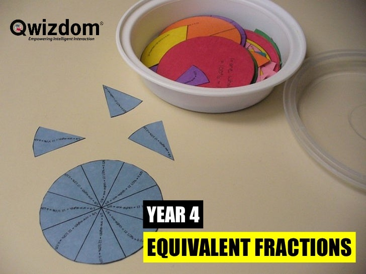 Y4 Equivalent Fractions - Qwizdom ppt