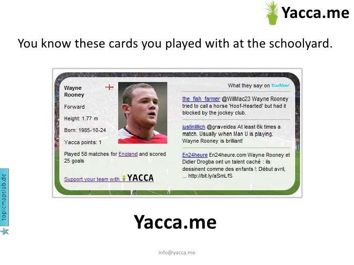 Yacca quick tour