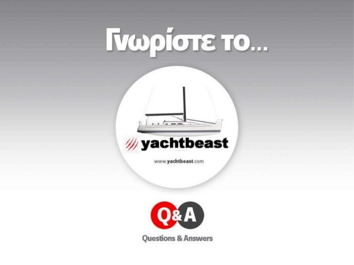 Yacht Beast greek
