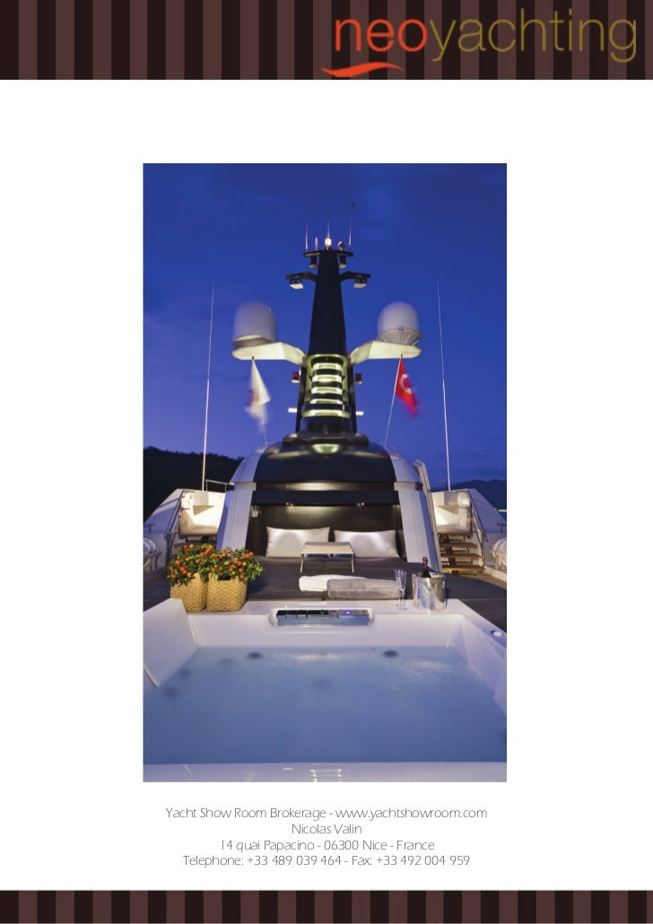 Yachtshowroom - April 2011 - Yacht Brokerage Catalog