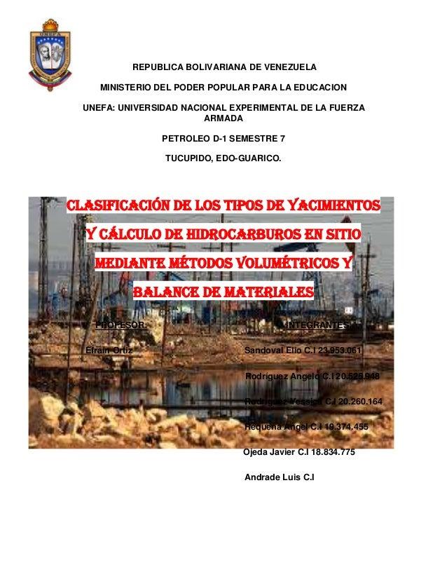 REPUBLICA BOLIVARIANA DE VENEZUELA MINISTERIO DEL PODER POPULAR PARA LA EDUCACION UNEFA: UNIVERSIDAD NACIONAL EXPERIMENTAL...