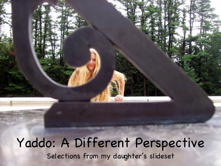 Yaddo: A Different Perspective Selections from my daughter's slideset