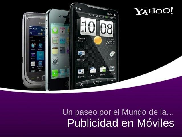 Publicidad en móviles - Yahoo!