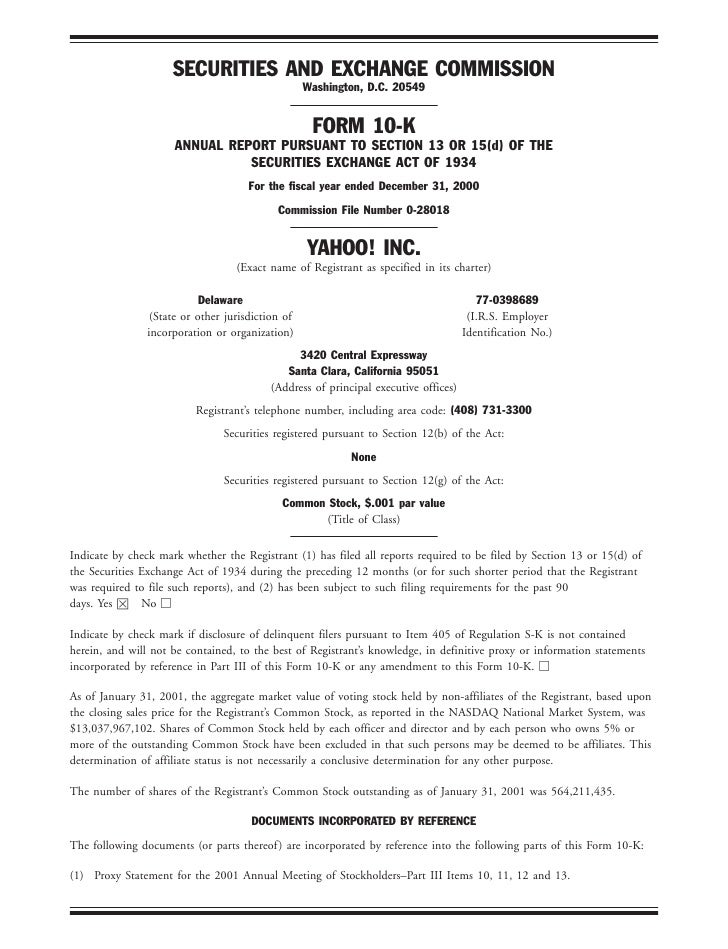 2000 Financial Section