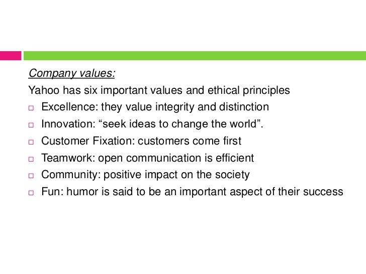 yahoo ethics case study essay