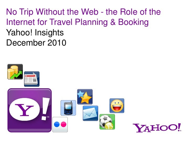 Yahoo! Travel Study