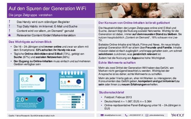 Yahoo-Studie:Gen WiFi
