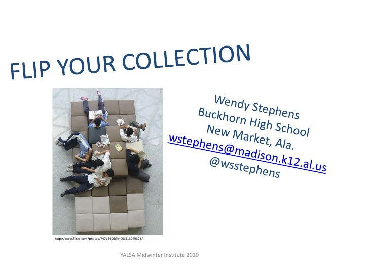 YALSA Institute Flip Your Collection